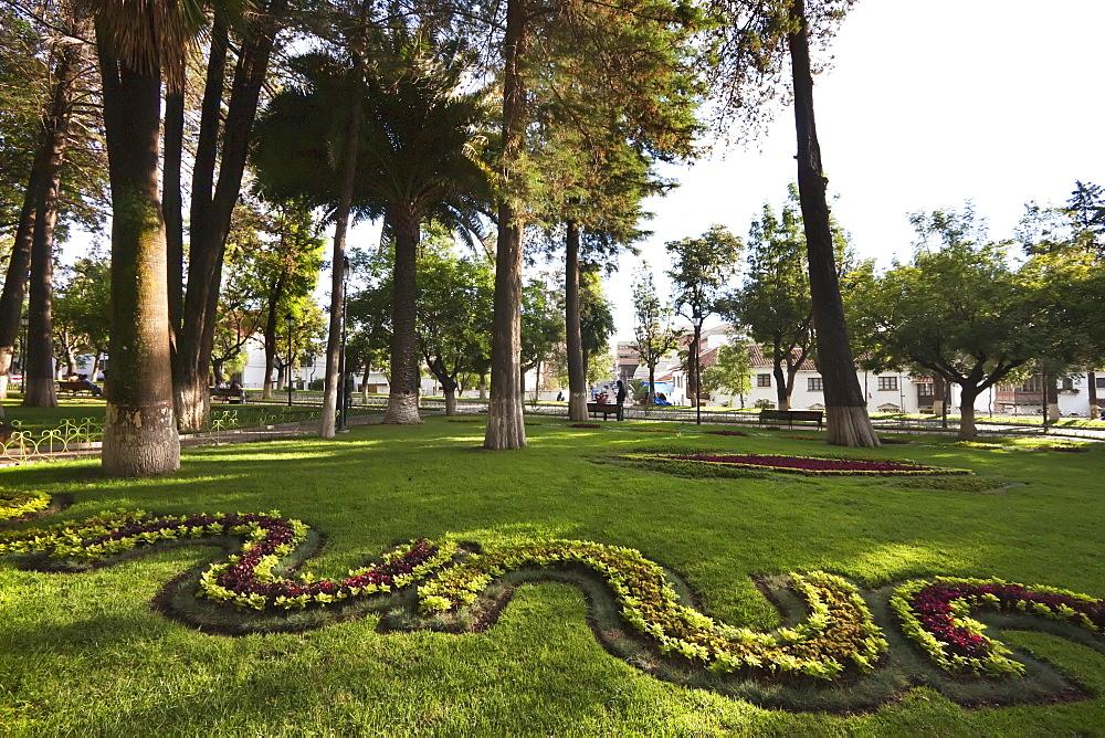 Parque Bolivar, Sucre, Chuquisaca Department, Bolivia