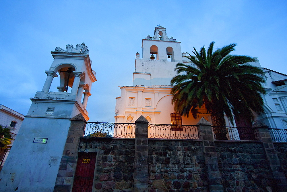 Santo Domingo Church, Sucre, Chuquisaca Department, Bolivia