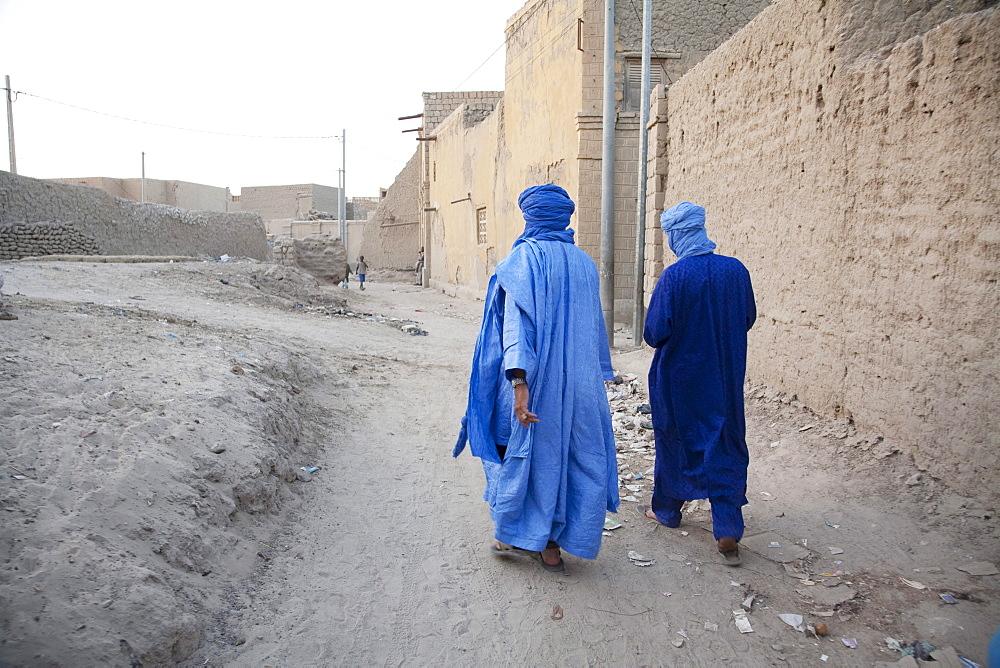 Tuareg men, Timbuktu, Mali