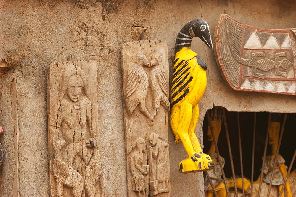 Handicrafts for sale in Segou, Mali
