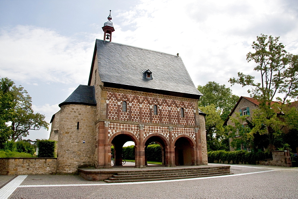 Königshalle or Torhalle (King's Hall or Gatehouse) to the Abbey and Altenmünster of Lorsch, Lorsch, Germany