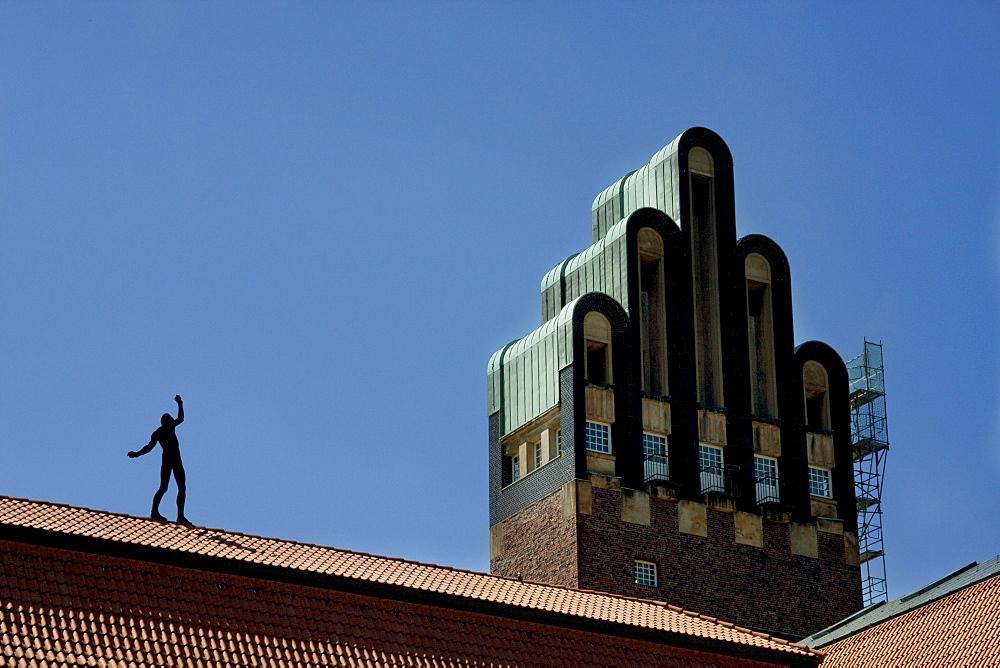 Hochzeitsturm (Wedding Tower) in Artists Colony, Darmstadt, Germany