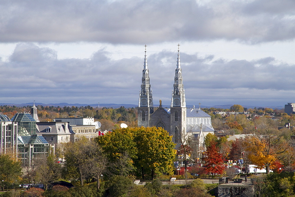 Cathedral Basilica of Notre Dame, Ottawa, Ontario, Canada