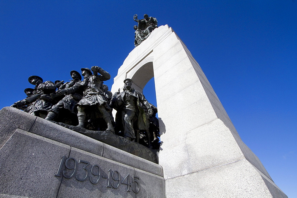 The Response, National War Memorial, Ottawa, Ontario, Canada