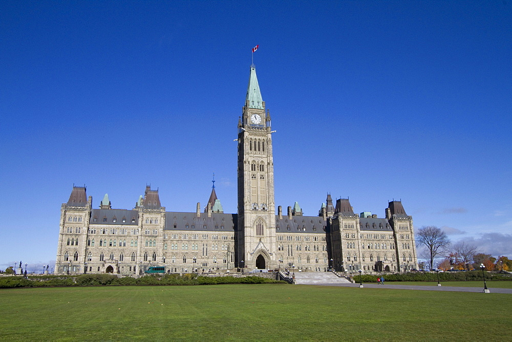 Centre Block of the Parliament Buildings, Ottawa, Ontario, Canada