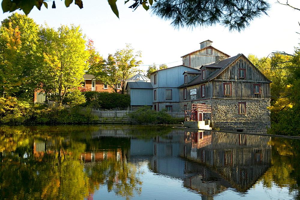 Water Powered Flour Mill, Mauricie-Bois-Franc Region, Quebec