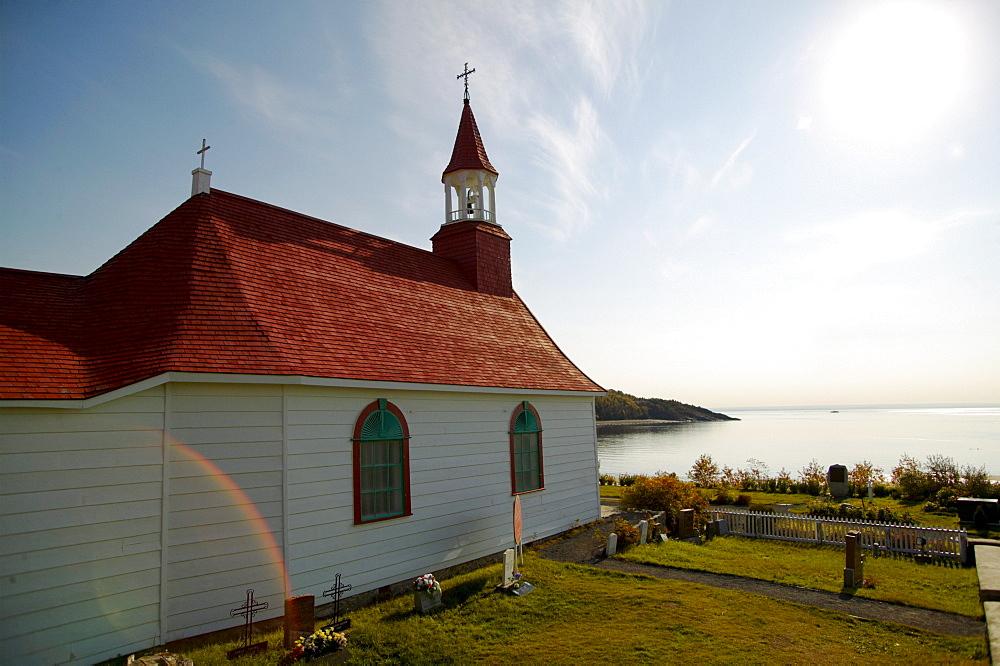 Tadoussac Church, Quebec