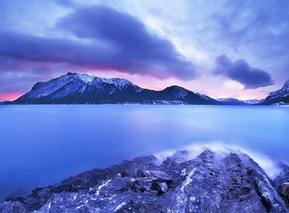 Lake Abraham, Kooteny Plains, Alberta.
