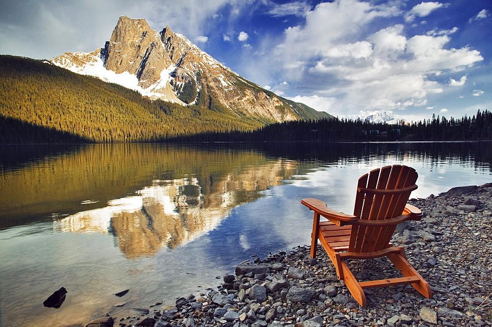 Emerald Lake, Yoho National Park, British Columbia.