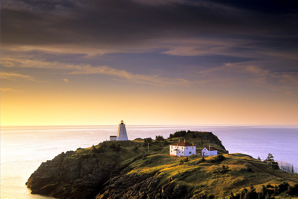Sunrise, Swallowtail lighthouse, Grand Manan Island New Brunswick.