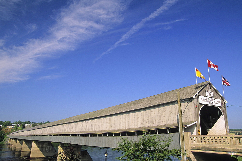 World's longest covered bridge, Hartland New Brunswick.