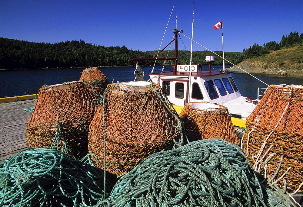 Fishing Gear, Avalon Peninsula, Aquaforte, Newfoundland & Labrador.