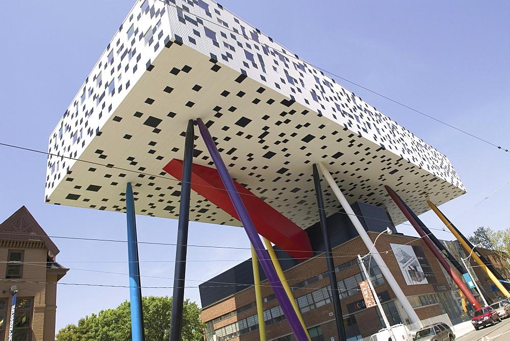 OCAD, designed by Architect Will Alsop, Toronto, Ontario