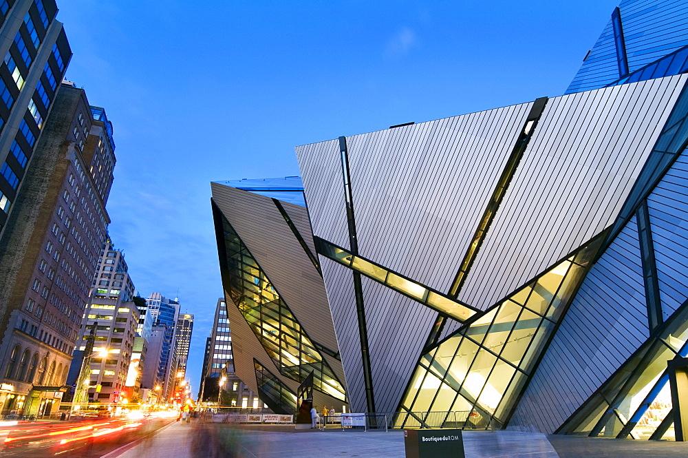 The Michael Lee-Chin Crystal Building, Royal Ontario Museum, Toronto, Ontario