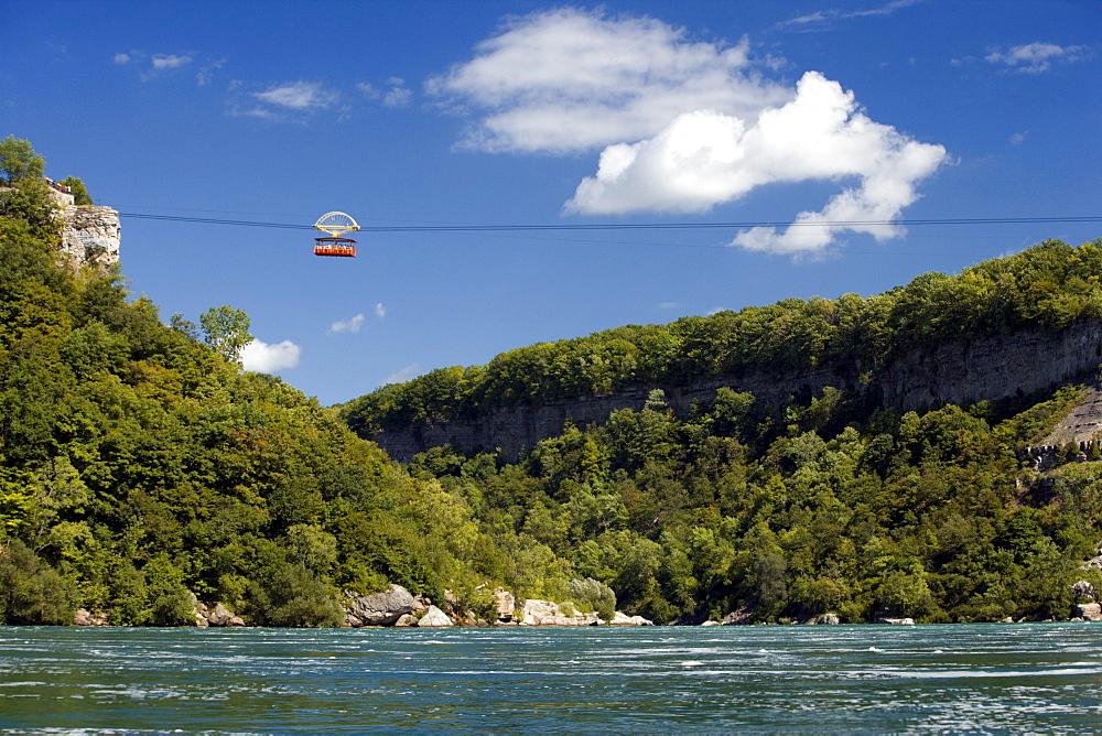 Aero Car over Whirlpool Rapids, Niagara Falls, Ontario, Canada