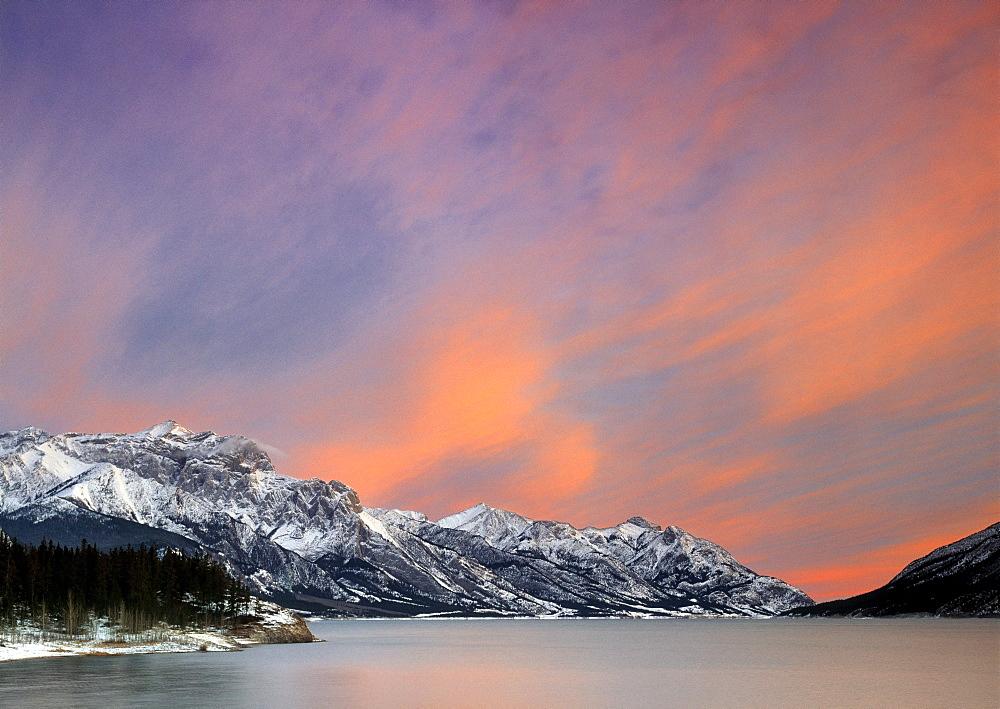 Lake Abraham, Kooteny Plains, Alberta, Canada