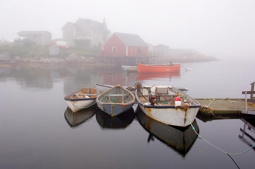 Fishing boats, Peggy's Cove, Nova Scotia