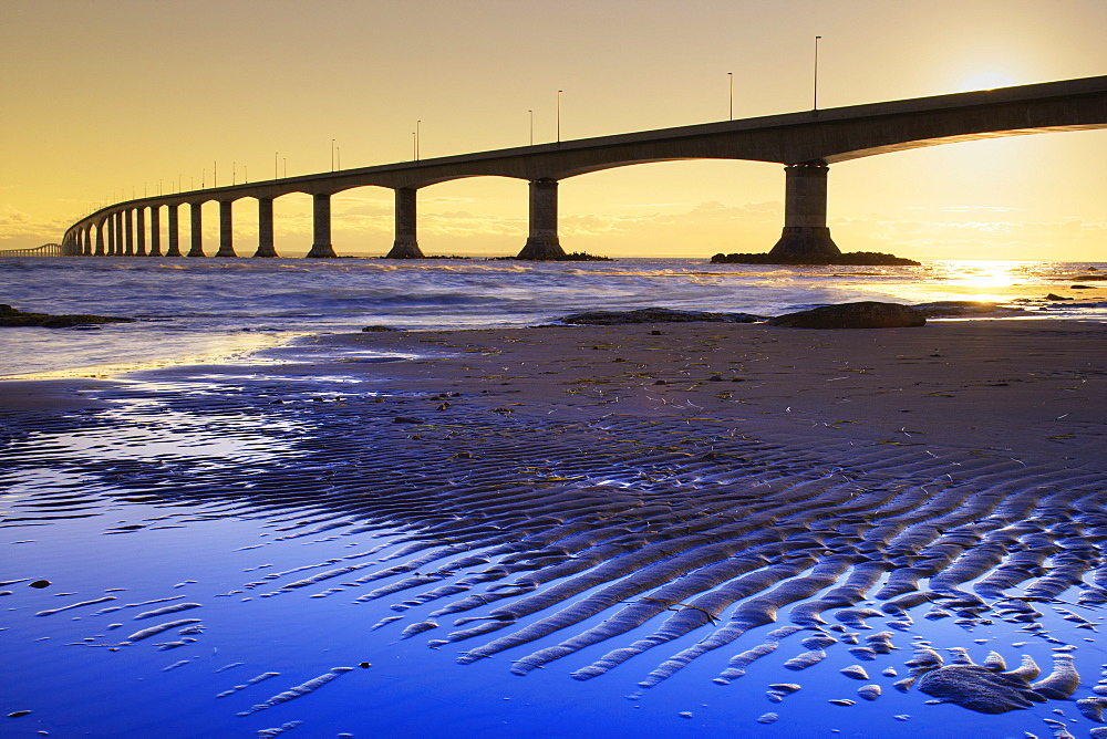 Confederation Bridge, Cape Jourimain, New Brunswick