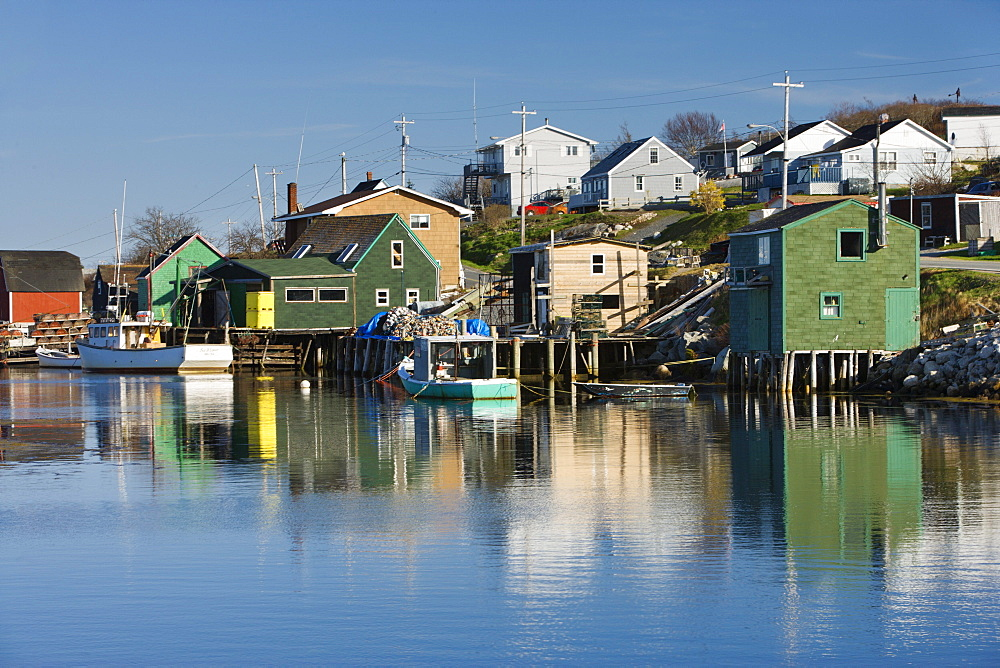 Shaw's Landing at West Dover. Nova Scotia