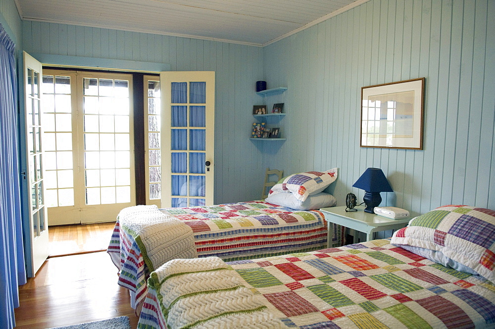 Cottage bedroom, Lake of the Woods, Kenora, Ontario