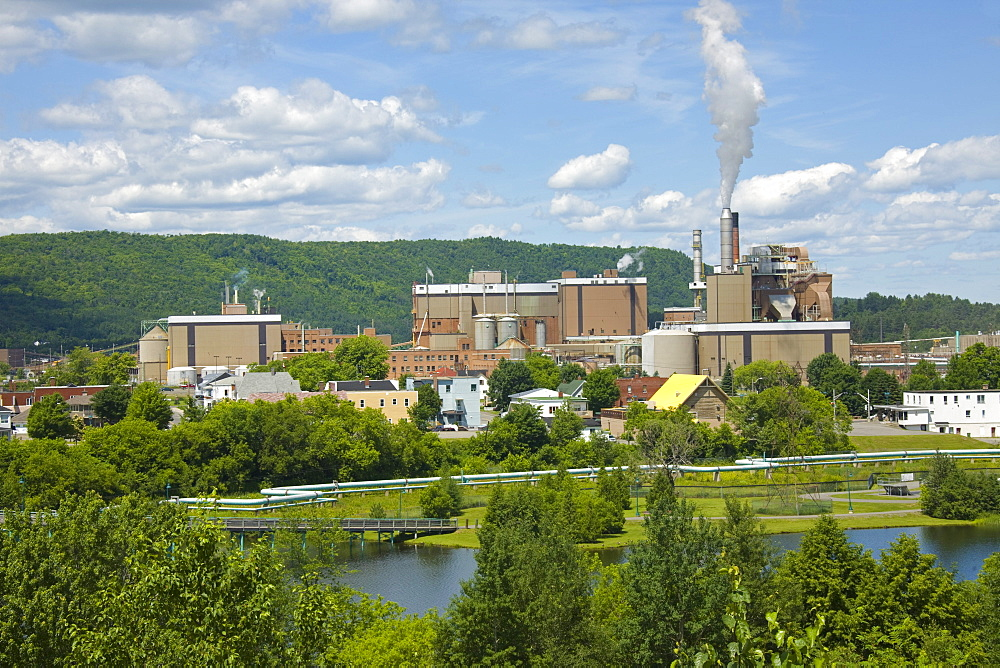 Frasier Pulp and Paper Mill, Edmundston, New Brunswick