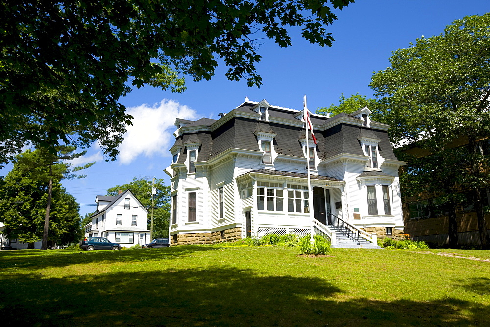 Lord Beaverbrooks birthplace, Miramichi, New Brunswick