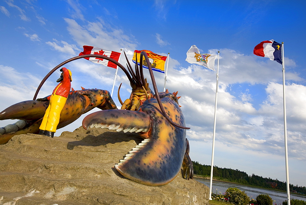 Giant lobster, Shediac, New Brunswick