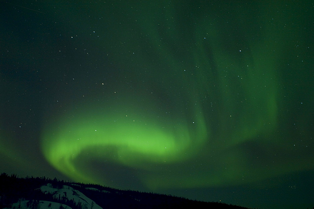 Aurora, Prelude Lake near Yellowknife, Northwest Territories