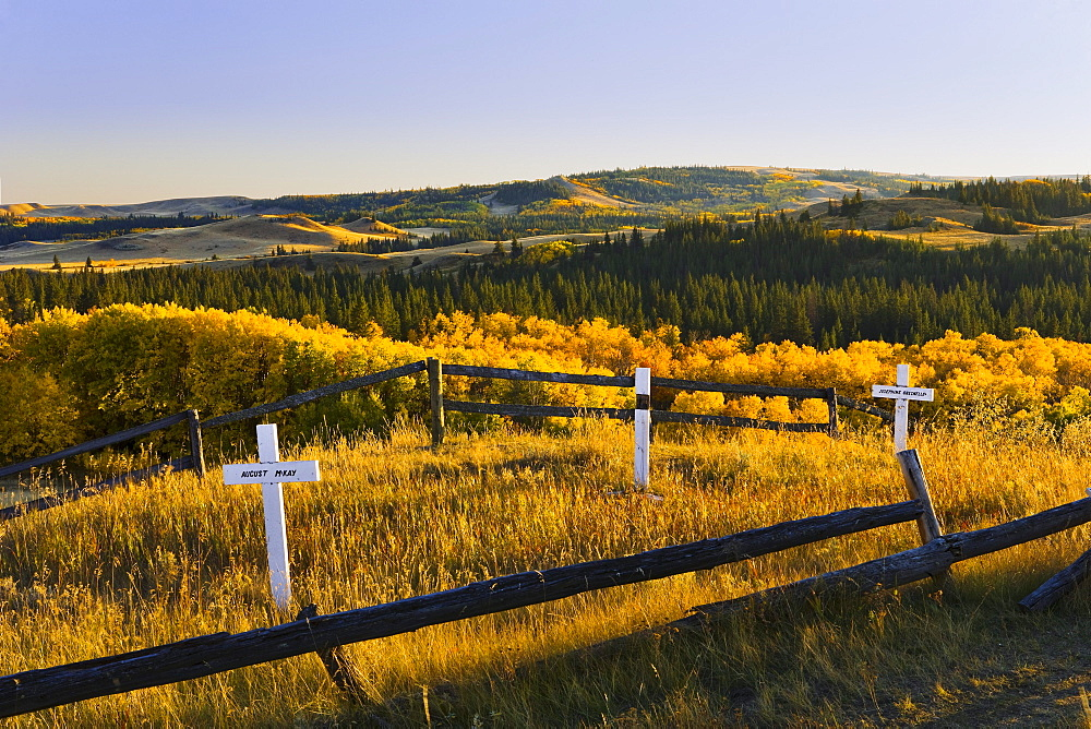 Cemetery at Fort Walsh, Cypress Hills Interprovincial Park, Saskatchewan