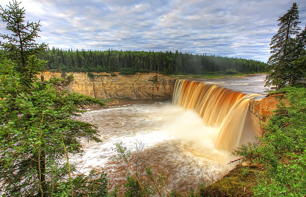 Alexandra Falls, near Hay River, Northwest Territories