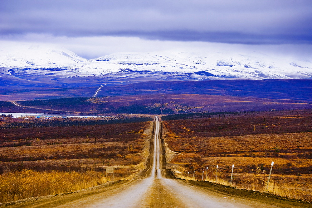 Dempster Highway and Richardson Mountains, Northwest Territories