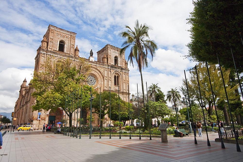 Iglesia de El Sagrario - Catedral Vieja (El Sagrario Church - Old Cathedral), Cuenca, Azuay, Ecuador