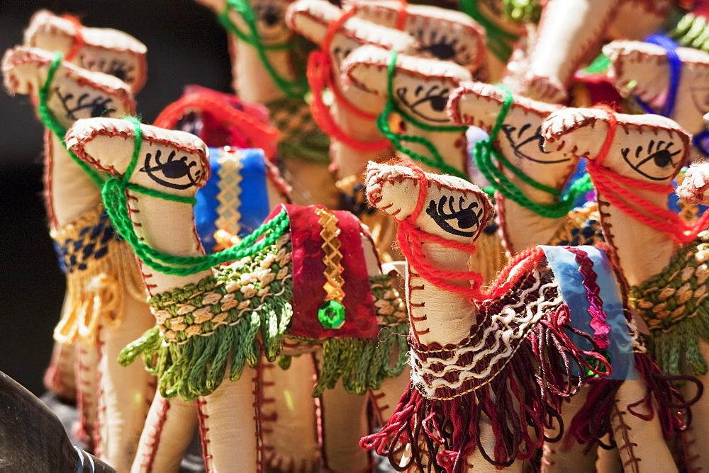 Toy camels, Cairo, Al Qahirah, Egypt