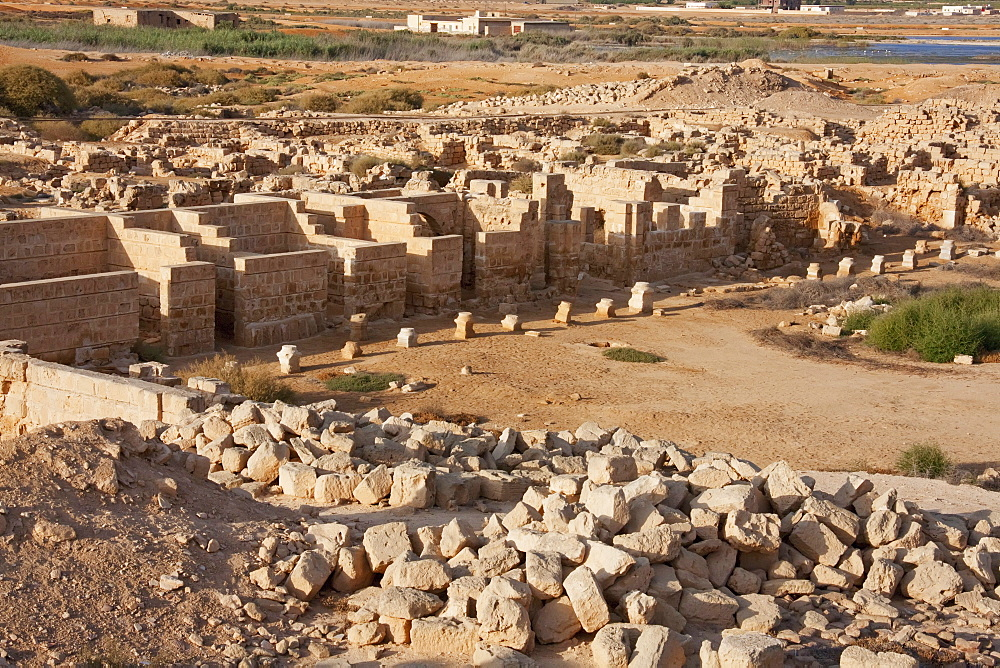 Remains of the Hospices, Abu Mena, Egypt