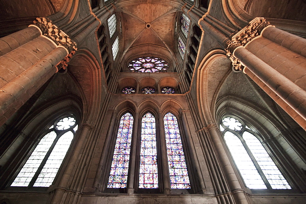 South arm of the transept of Notre-Dame de Reims Cathedral, Reims, Marne, France