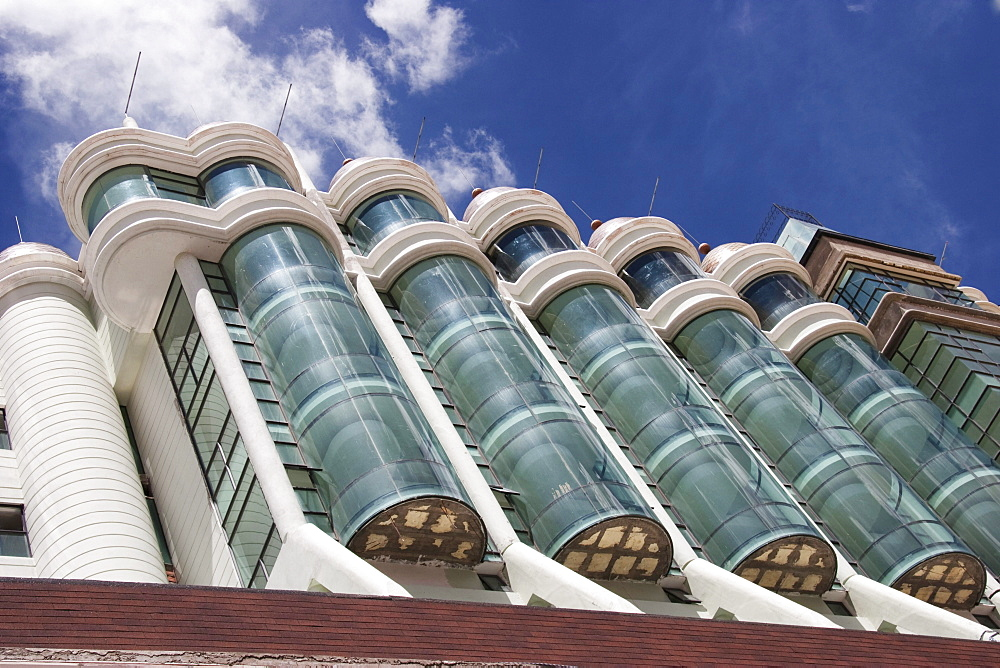 Modern office building, Oruro, Bolivia
