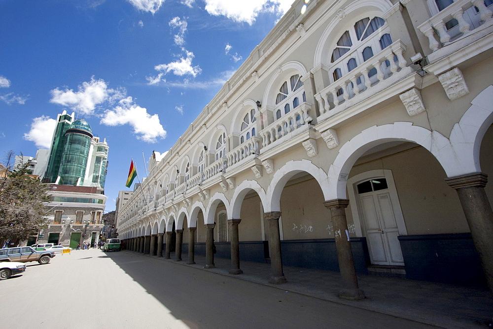 Building of the Prefectura, Oruro, Bolivia