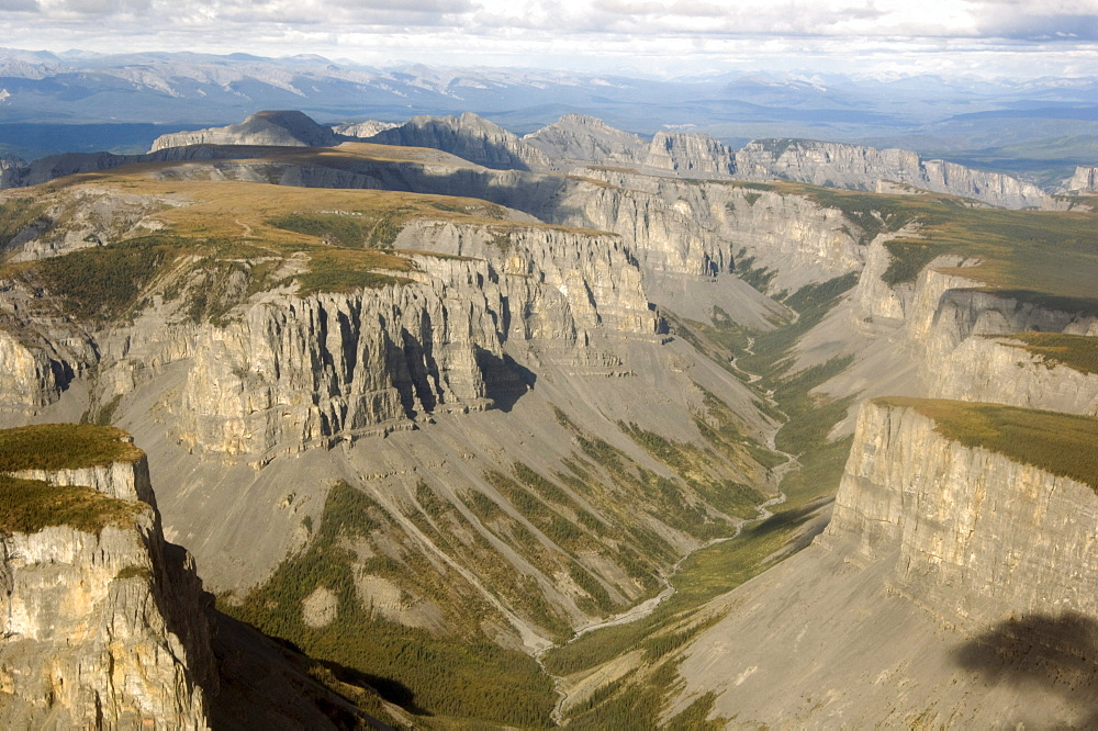 Part of Nahanni Karstlands, a series of plateaus and canyons along the Nahanni River, Northwest Territories