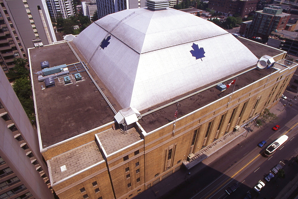 A.Marsh; 3524-0120-11, Overview of Maple Leaf Gardens, Toronto, ON