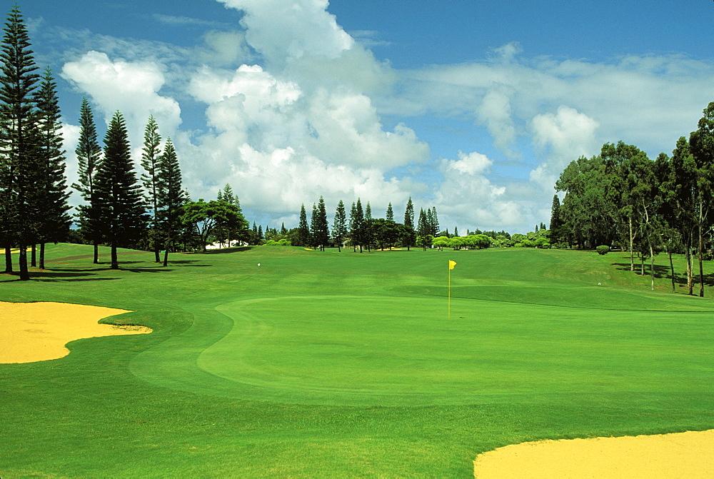 Hawaii, Kauai, Princeville Resort, Woods Golf Course