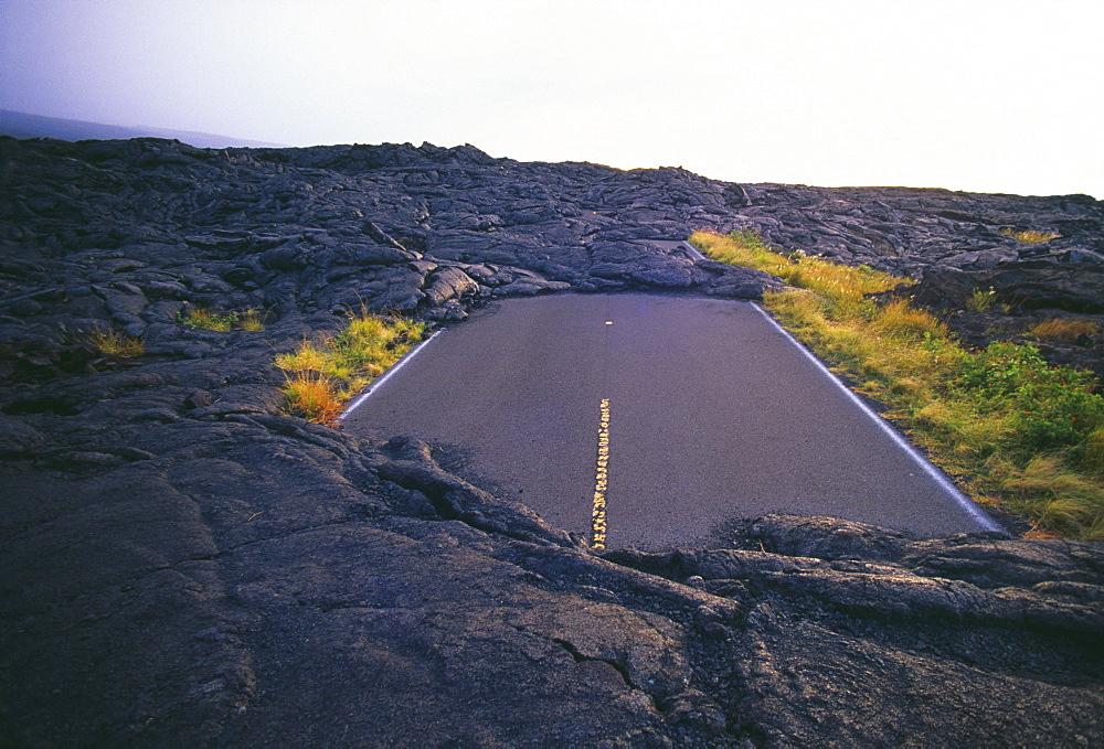 Hawaii, Big Island, Hawaii Volcanoes National Park, Chain of Craters Road.