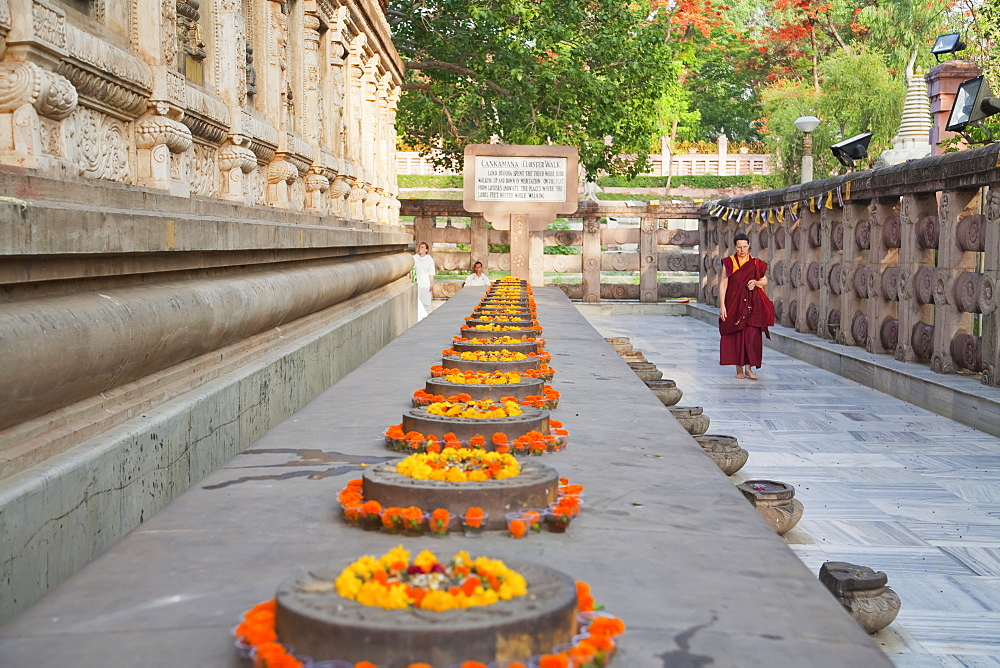 Ratnachankramas By The Mahabodi Temple, Bodhgaya, Bihar, India