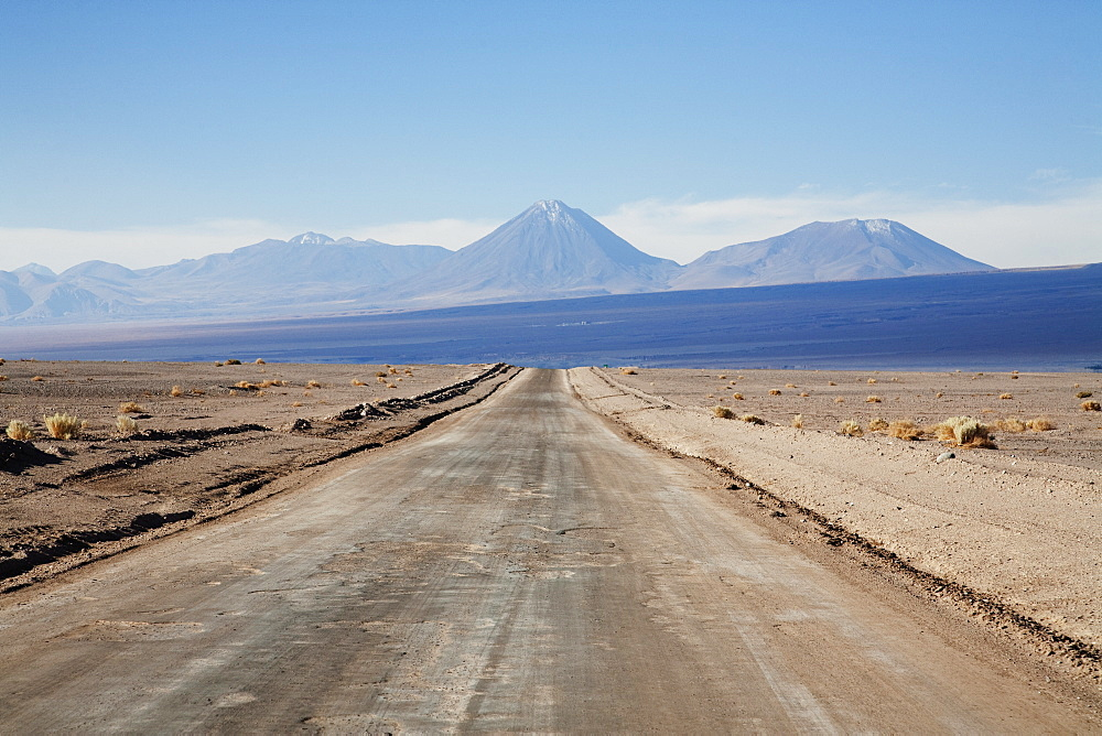 Licancabur Volcano, As Seen From The Highway Between San Pedro De Atacama And Toconao, Antofagasta Region, Chile