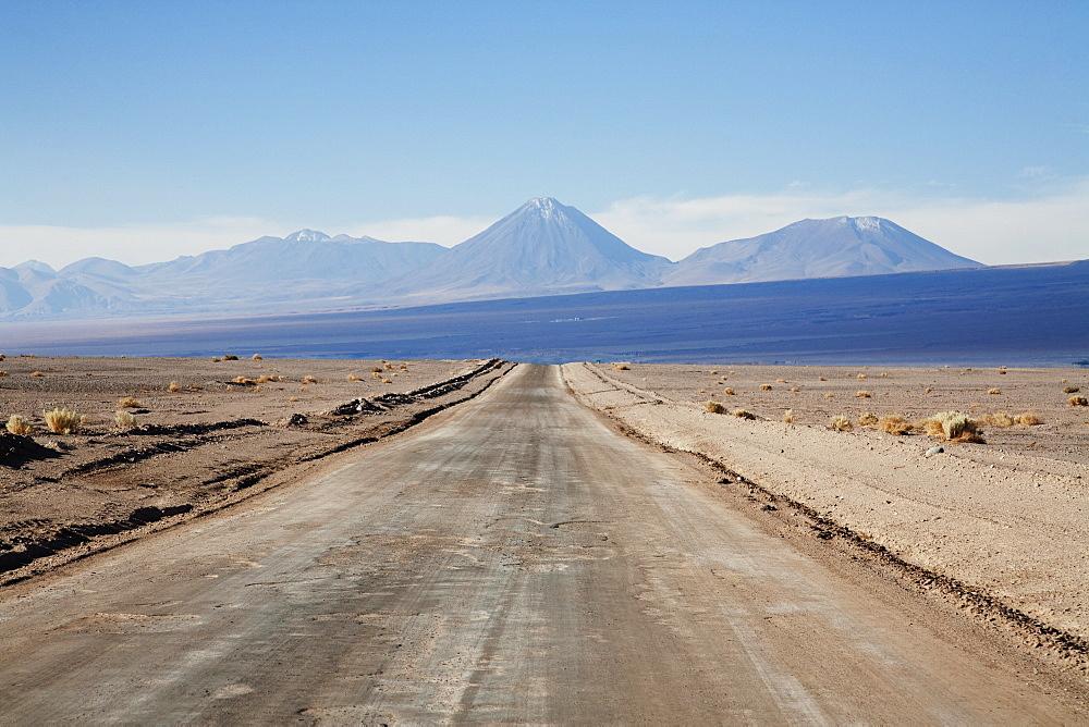 Licancabur Volcano, As Seen From The Highway Between San Pedro De Atacama And Toconao, Antofagasta Region, Chile