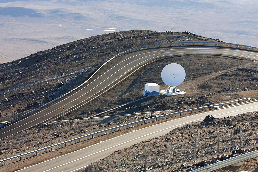 Satellite Dish Operated By The European Southern Observatory At Paranal, Antofagasta Region, Chile