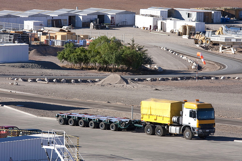 Truck Used To Transport Vlt Mirrors At The European Southern Observatory In Paranal, Antofagasta Region, Chile