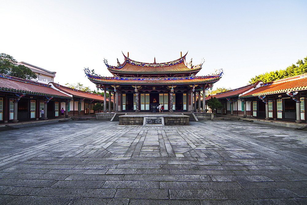 Dacheng Hall in the Confucius Temple, Taipei, Taiwan