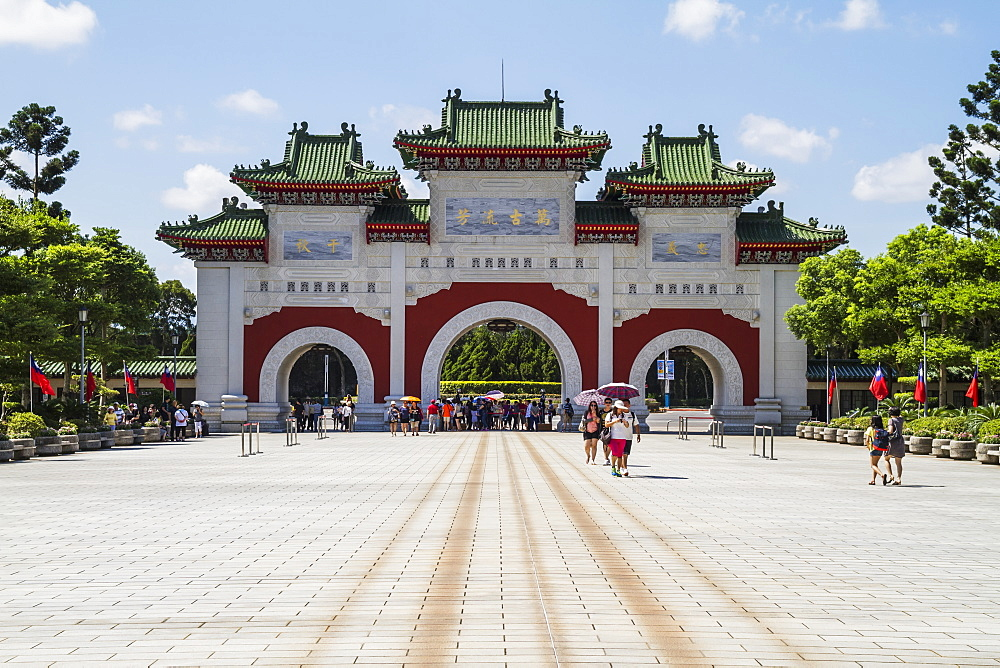 Gate of the National Revolutionary Martyrs' Shrine, Taipei, Taiwan