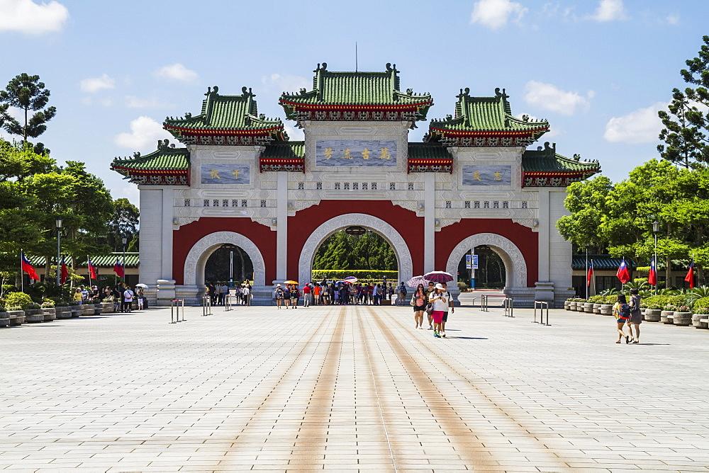 Gate of the National Revolutionary Martyrs' Shrine, Taipei, Taiwan