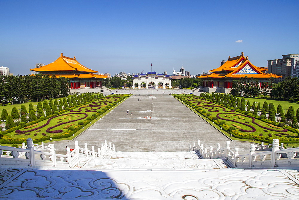 National Theater, Gate to the Chiang Kai-shek Memorial Hall and National Concert Hall, Taipei, Taiwan